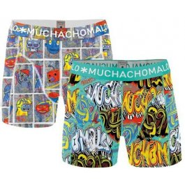 2 Pack Men Short Grafix